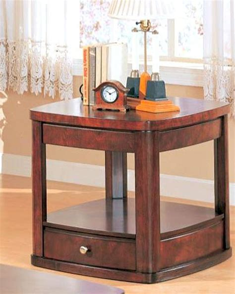 End Table With Drawer And Shelf by End Table With Drawer And Shelf Co700247