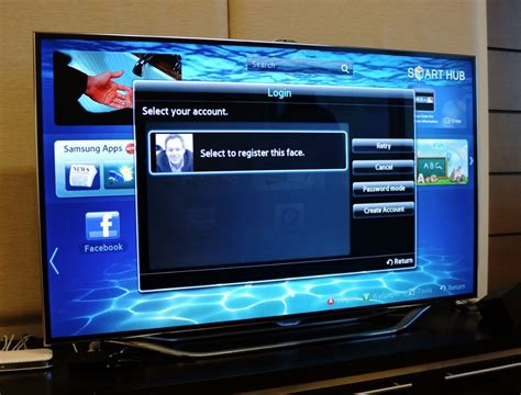 Tv Samsung Es8000 Samsung Es8000 Smart Tv Offers A Glimpse At The Future Of The Television