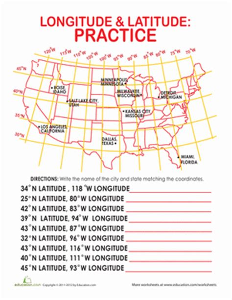 world map of cities with latitude and longitude latitude and longitude lesson plans worksheets review ebooks