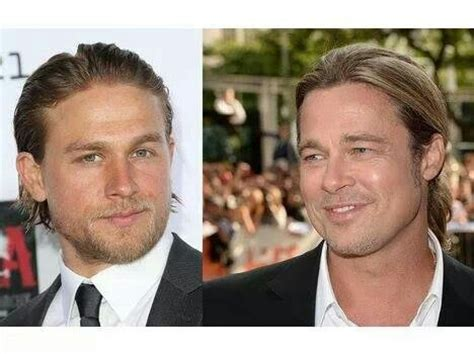 charlie hunnam brad pitt pin by katie trout on you sir are very attractive