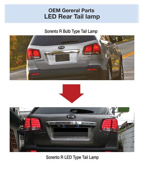Oem Kia Parts Oem Genuine Parts Rear Led Light L Lh Rh For Kia