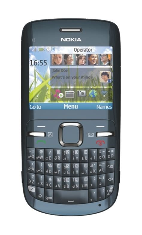 nokia c3 qwerty themes nokia c3 handset showcases the latest in qwerty innovation