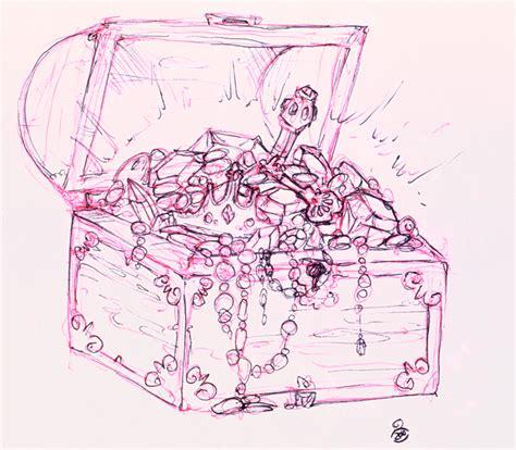 treasure chest tattoo ink chest by kristine horner