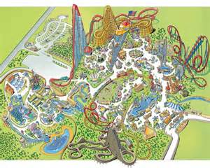 Map Of Worlds Of Fun by Worlds Of Fun