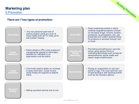 sponsorship marketing plan template marketing plan template in powerpoint