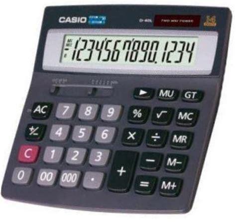 Casio D 40l Kalkulator Meja casio d 40l ordinateurs de poche calculatrices casio pb fx cfx pockets casio d 40l