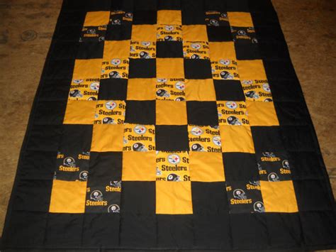 Steelers Quilt by Etsy Your Place To Buy And Sell All Things Handmade
