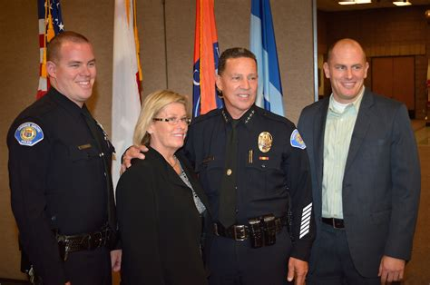Garden Grove Pd by The Badge Garden Grove Honors Chief Raney As His