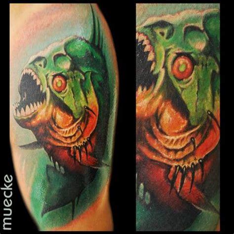 piranha tattoo designs george muecke s designs tattoonow