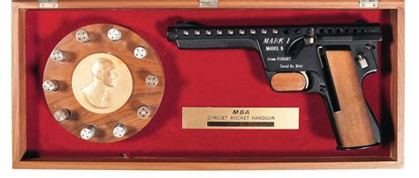 Mba Consignment Sale by Mba Gyrojet I Pistol Firearms Auction Lot 902