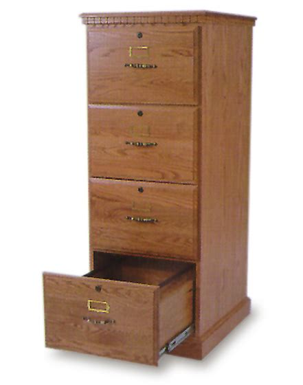 Impressive Oak File Cabinet 4 Drawer 5 Oak 4 Drawer Wood 4 Drawer Wood File Cabinets For The Home