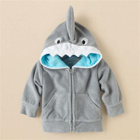 Newborn boys swimwear shark terry hoodie childrens clothing kids clothes the