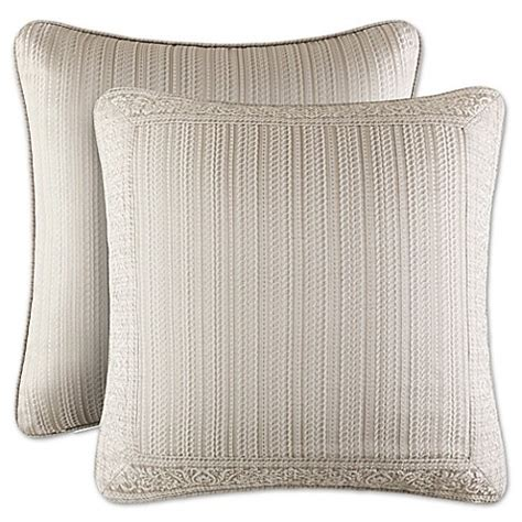bed bath and beyond wilmington j queen new york wilmington european pillow sham bed