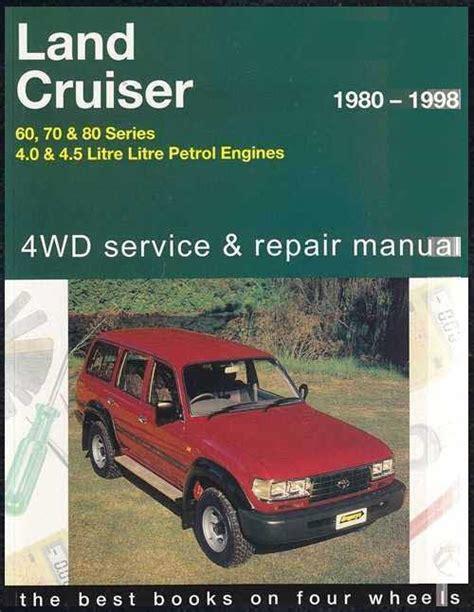 manual repair autos 1994 toyota land cruiser lane departure warning toyota land cruiser 60 70 80 series 1980 1998 4wd service repair manual 1563928299