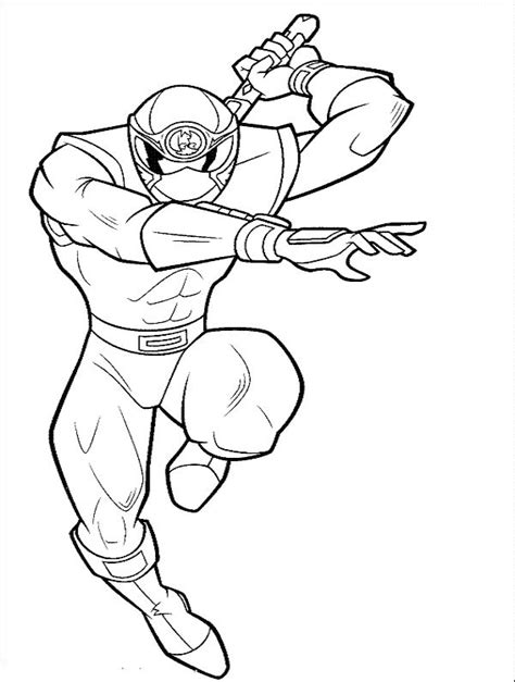 power rangers coloring pages free online power ranger red ninja strom coloring pages power ranger