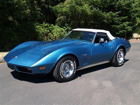 1974 Chevrolet Corvette 1974 Chevrolet Corvette Convertible 113040