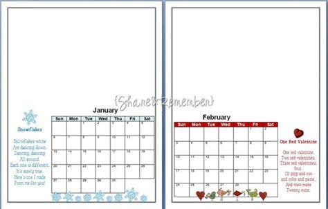 handprint calendar template calendar template 2016