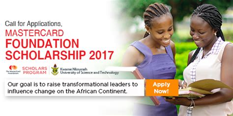 Knust Mba Admission 2017 by Mastercard Foundation Scholars Program 2017 2018 At Knust