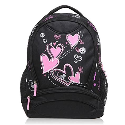 black pattern backpack hynes eagle sweetheart pattern kids backpack black