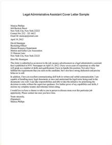 administrator cover letter no experience business