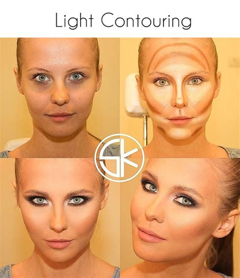 Contouring Light Skin by 10 Light Contouring Tutorials For Every Pretty Designs