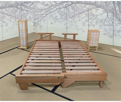 futon letto divano letto in legno artigianale futon salice vivere zen