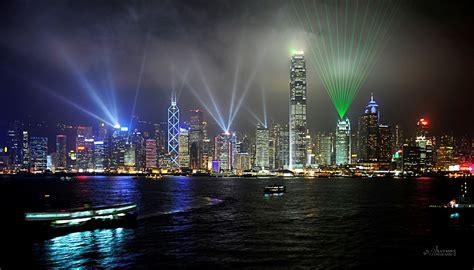 hong kong light show laser light show hong kong harbour photoman555 galleries