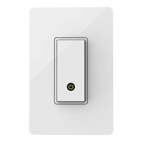 wemo light switch wi fi enabled belkin wemo light switch product shot