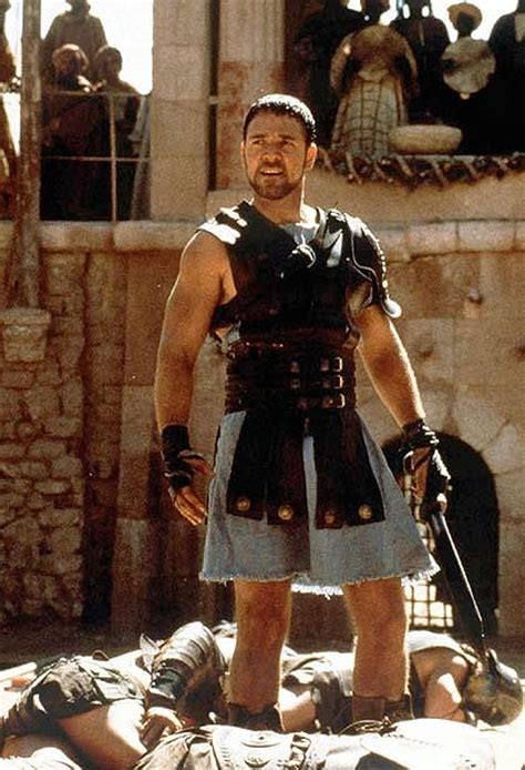 gladiator film book russell crowe threatened to kill movie producer says new book