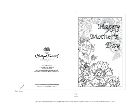 day card templates template mothers day card template