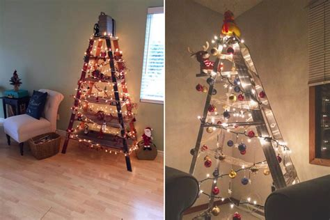 how to make a ladder christmas tree new tree trend is a big step