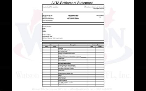 Settlement Statement Template 10 Settlement Statement Exles Free Premium Templates With Free Settlement Statement Template