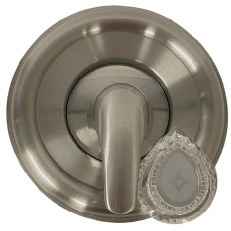universal tubshower trim kit  moen  brushed nickel danco