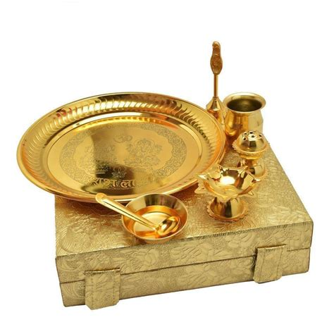 decorative aarti thali online in india handmade decorative gold plated pooja thali aarti
