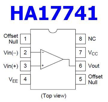 ha datasheet  operational amplifier