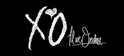 xo tattoo fonts xo til we overdose harmonic entropy