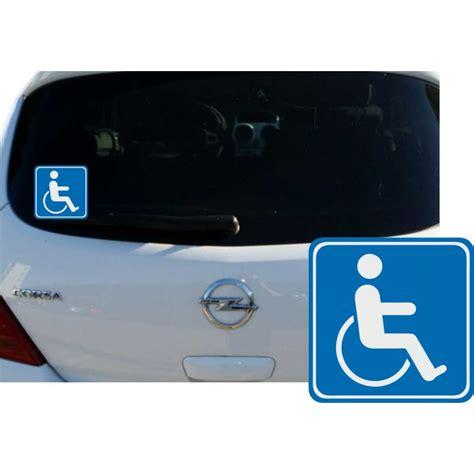 Auto Aufkleber Rollstuhlfahrer by Aufkleber Schwerbehindert Auto Kfz Vorsicht Achtung