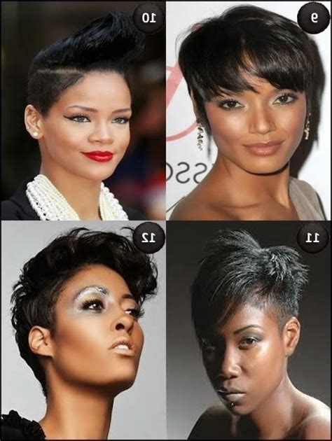 Black Hairstyles For Hair Oval by 15 Best Ideas Of Black Hairstyles For Oval Faces