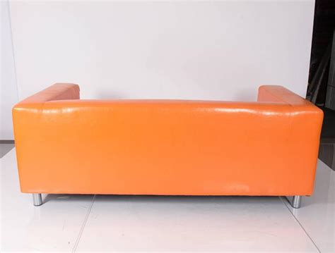 orange couch for sale vintage orange sofa for sale at 1stdibs