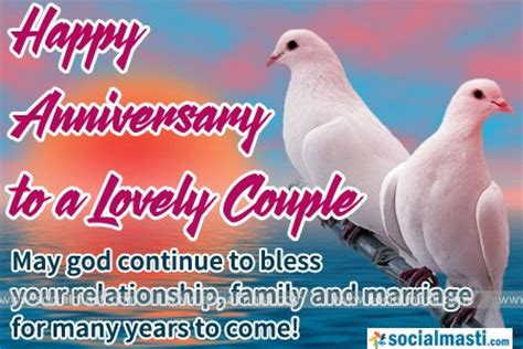 Wedding Anniversary Wishes With God Bless by Anniversary Wishes For With Blessing And Quote