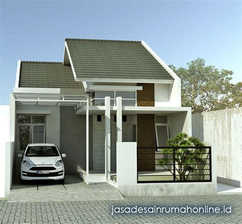 desain tak depan rumah lebar 7 meter desain rumah minimalis 1 lantai lebar 7 meter elegan
