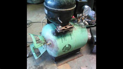 Mesin Kulkas Membuat Kompresor Sendiri Dari Mesin Bekas Kulkas