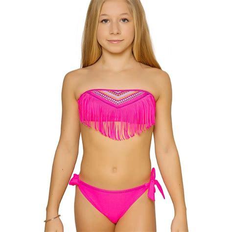 maillot de bain franges enfant maillots de bain
