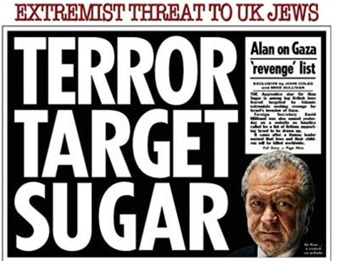 fox news islamic terrorism not just a threat it is a reality 187 how the sun defended bogus alan sugar terror threat