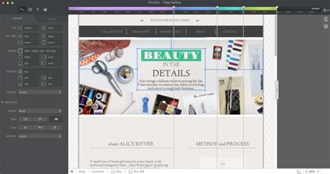 layout design tool website adobe rolls out preview of edge reflow web design tool