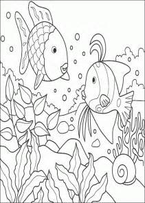 rainbow fish coloring page rainbow fish coloring pages coloringpagesabc