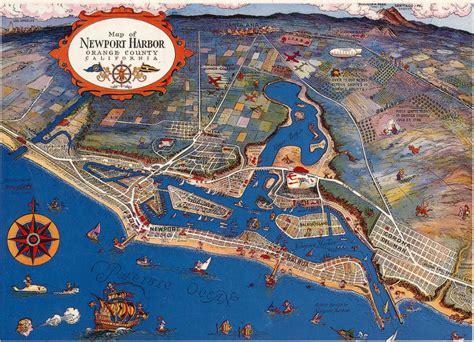 map newport california o c history roundup november 2011