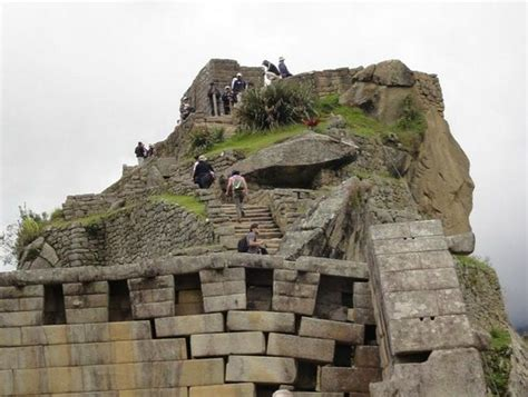 un mod 232 le de l architecture inca picture of temple of the three windows machu picchu