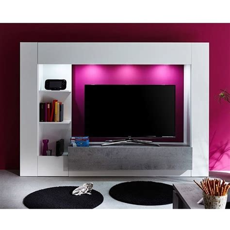 mobile moderno soggiorno parete porta tv mobile soggiorno moderno bianco con led