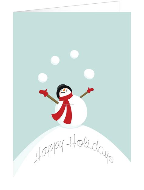 Gift Card Holiday - frosty snowman holiday greeting card china wholesale frosty snowman holiday greeting card